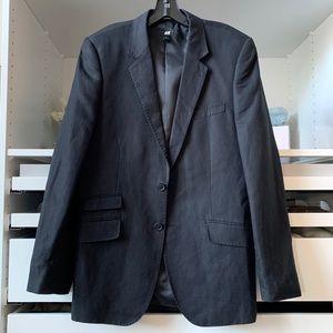H&M Men's Dark Gray Blazer